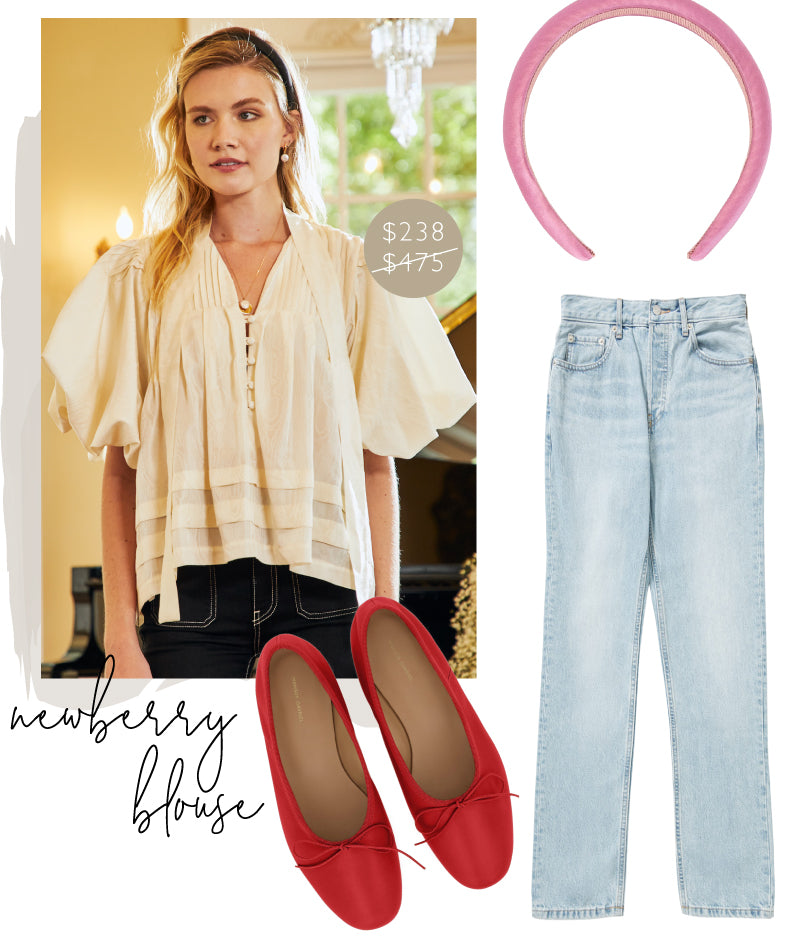 Style Inspiration for the Hunter Bell Newberry Blouse in Ivory