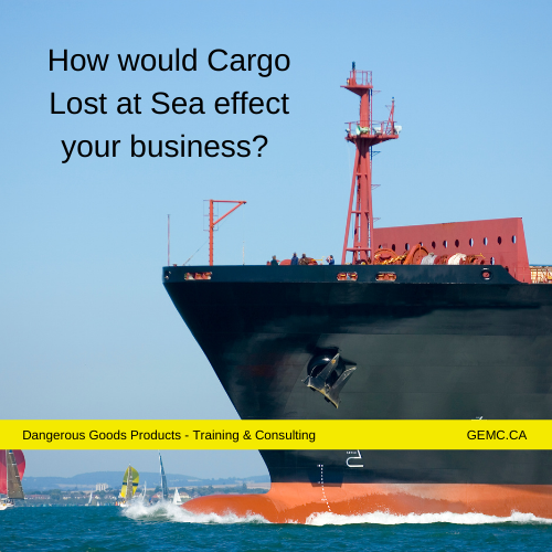 Cargo Lost at Sea