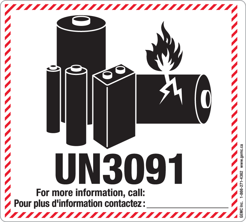 UN 3091 - Battery in Equipment