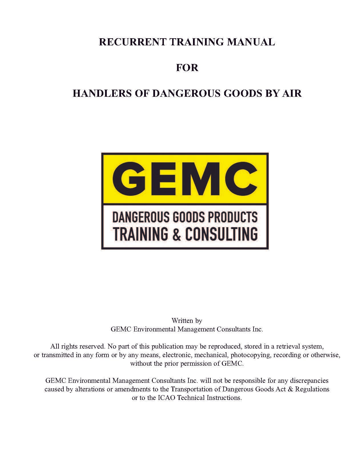 AIR Training Participant Manual