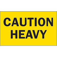 Caution Heavy
