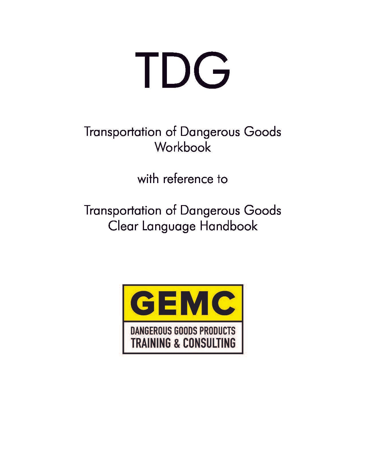 TDG Instructors Package