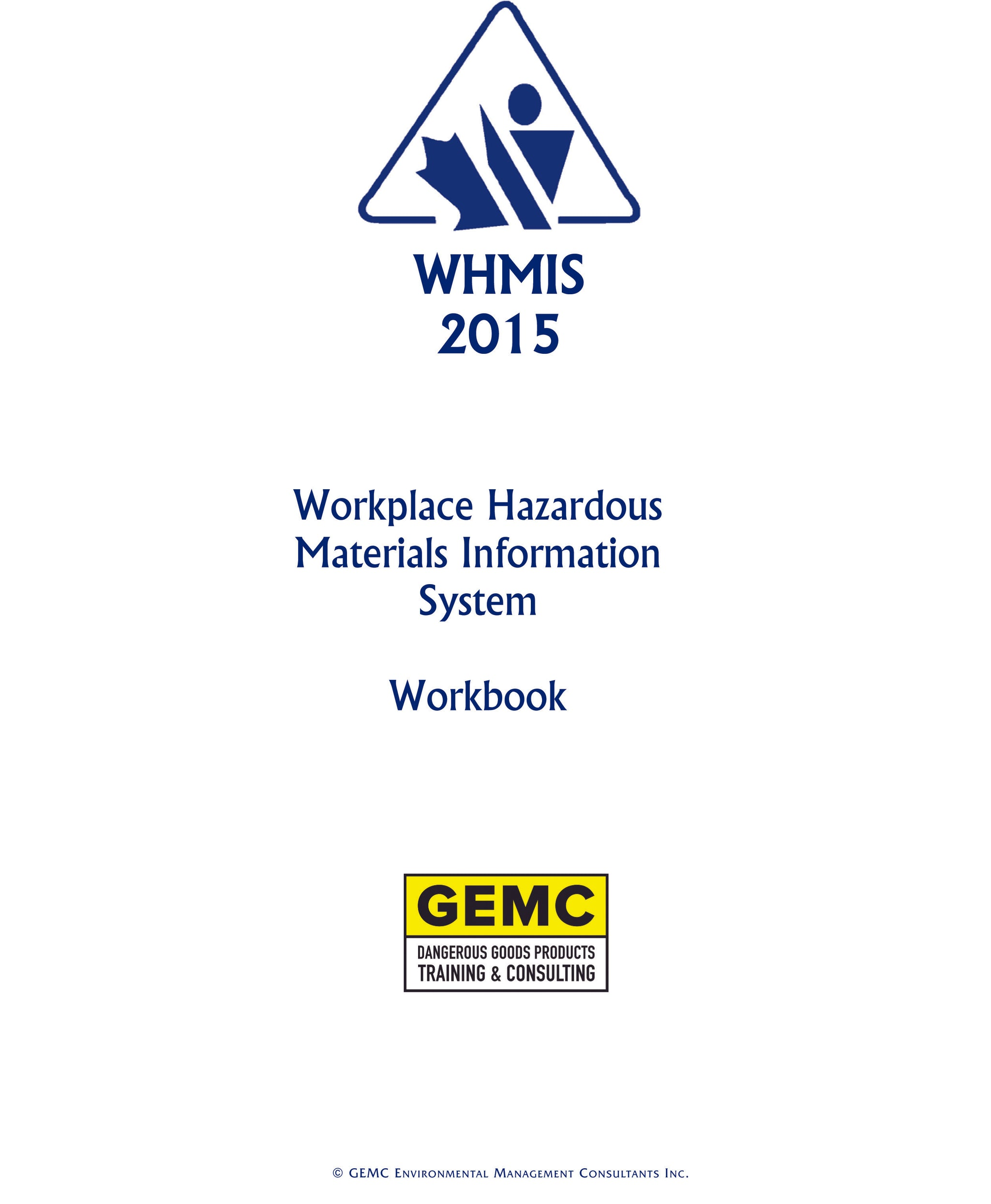 WHMIS Self-Teach Training Kit