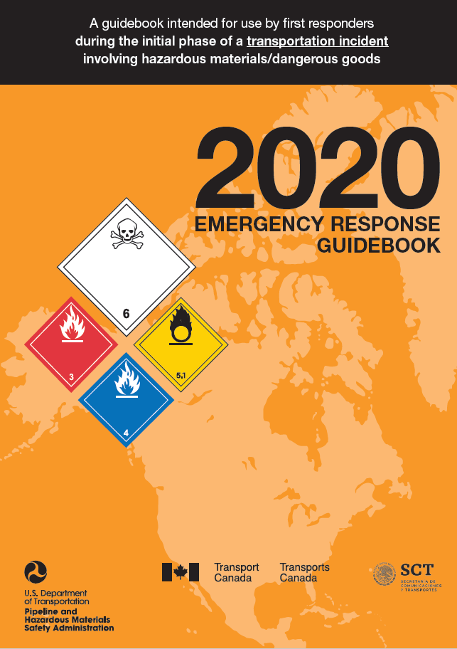 New 2020 Emergency Response Guidebook 5 x 7