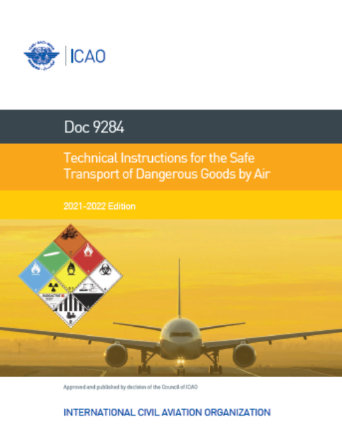 ICAO Technical Instructions 2021/2022