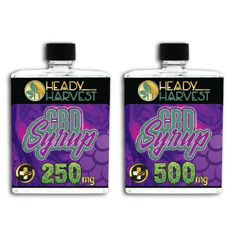 Heady Harvest – CBD Syrup