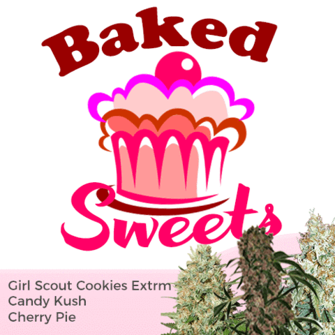 Baked Sweets Mixpack - Los Angeles Cannabis Club