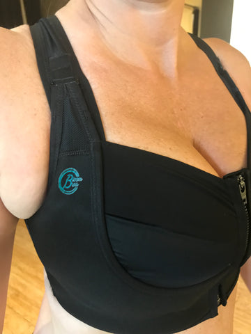 Bloom Bras in 32GG adjustable, wire-free, sports bra for large breasts