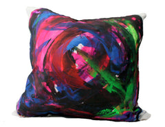 Bacio - Graffiti: NY - Hand Painted Collectors Throw Pillows