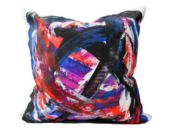 Bacio - Graffiti: Boston II - Hand Painted Collectors Throw Pillows