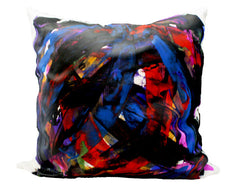 Bacio - Graffiti: LA II - Hand Painted Collectors Throw Pillows