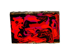 Bacio - Hand Painted Wood Slab