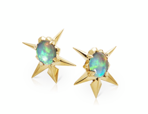 Starburst Opal Earrings - Lisa Kim