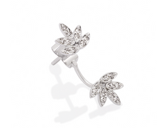 Leaves of Love Earring - Woodbury