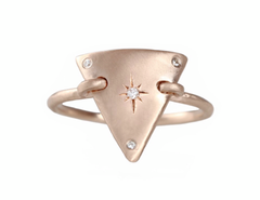 Triangle Plate Ring - Sirciam