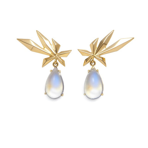 Storm's Tear Earrings - Lisa Kim