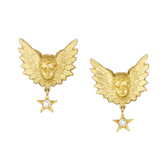 Star Stud Putti Studs - Anthony Lent