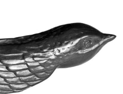 Agelio Battle - Swallow Graphite Sculpture