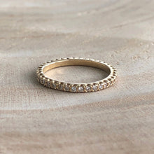 Load image into Gallery viewer, Pave Eternity Band