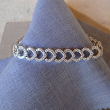 Load image into Gallery viewer, Diamond Link Bracelet