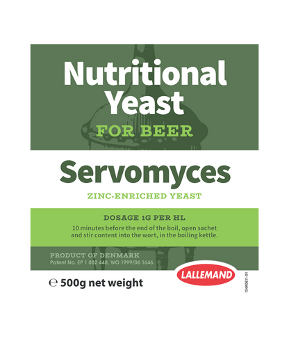 Servomyces Zinc-Enriched Yeast Nutrient (500g)