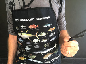 New Zealand Seafood Apron