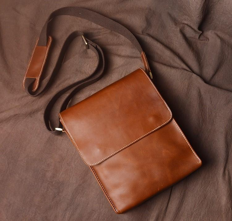 Handmade Vintage Style Leather Shoulder Bag - BeSmashing