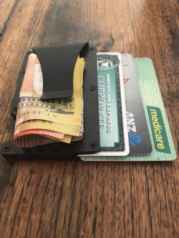 Aviation Grade RFID Blocking Carbon Fibre Wallet - BeSmashing