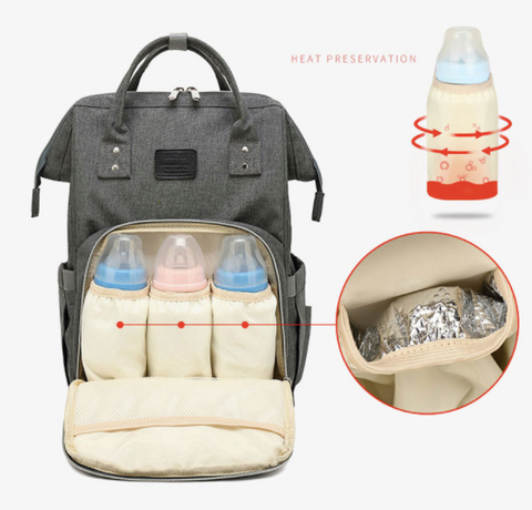 Multi Function Waterproof Nappy Bag Backpack - BeSmashing