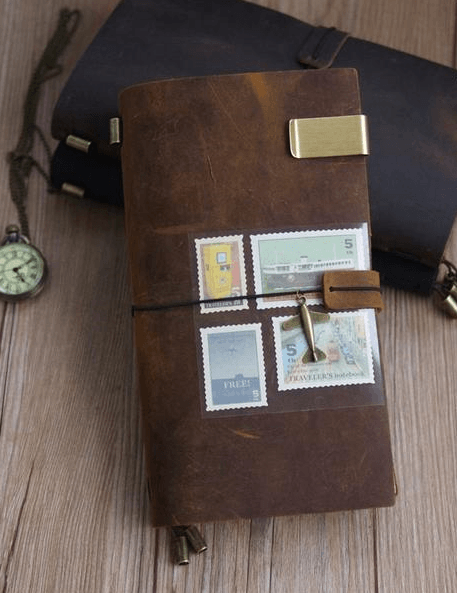 LEATHER BOUND JOURNALS AND NOTEBOOKS