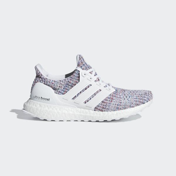 Ultraboost Shoes Cloud White Cloud White Active Red