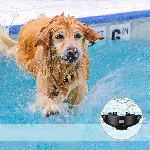 300M Wateproof Electric Shock Collar Dog Training Remote Control Anti-Bark Neu
