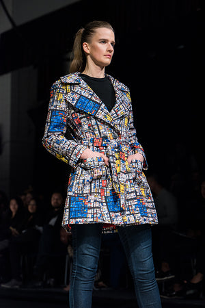 Mondrian Madness Trench