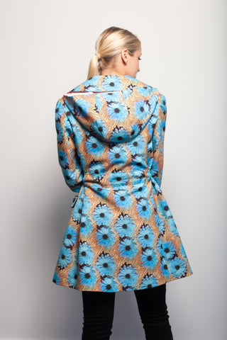 Blue Daisy Trench