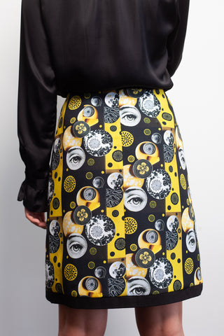 Yellow Eyes Skirt