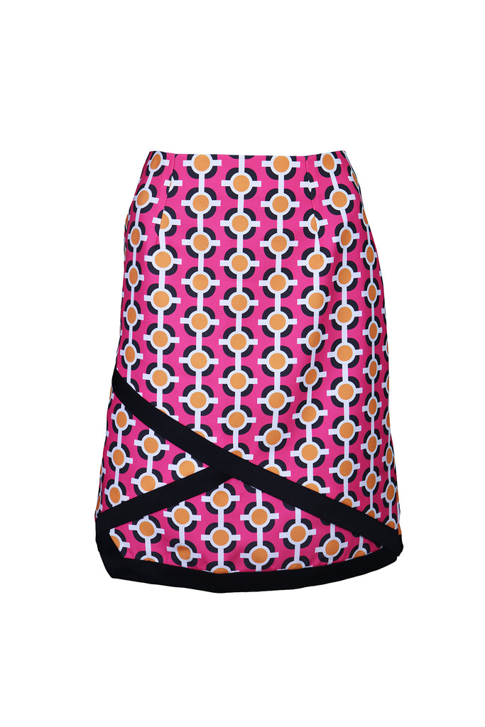 Front view of Pink Pop Skirt