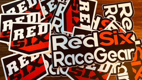 Red Six Logo Stickers