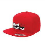 Red Six RaceGear Red Snapback Hat
