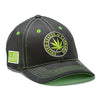 United States of Cannabis Bold Logo Black Twill Cap