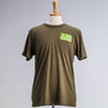 United States of Cannabis Army Green Men's T-Shirt