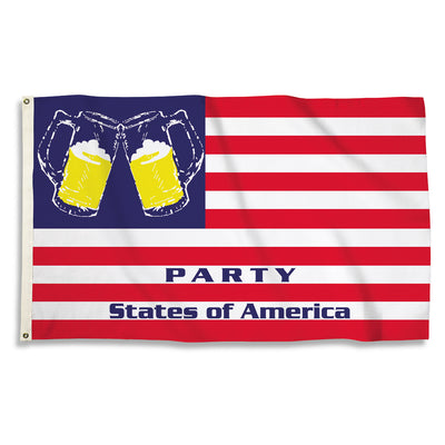 Party States of America 3x5 Flag