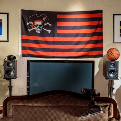 Pirate Stripe 3x5 Flag