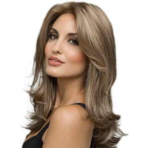 Light Brown Long Wave Wig