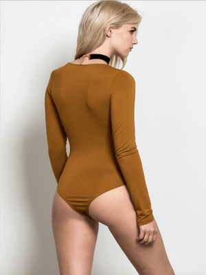 Give Me Bodysuit - Camel
