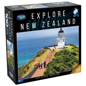 EXPLORE NEW ZEALAND 100PC PUZZLE (CAPE REINGA, NORTHLAND)