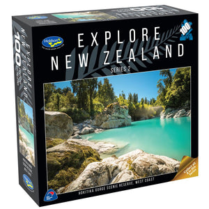 EXPLORE NEW ZEALAND 2 100PC (HOKITIKA GORGE, WEST COAST)