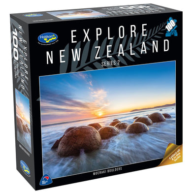 EXPLORE NEW ZEALAND 2 100PC (MOERAKI BOULDERS)