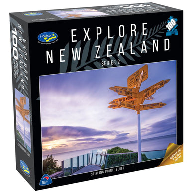 EXPLORE NEW ZEALAND 2 100PC PUZZLE (STIRLING POINT, BLUFF)
