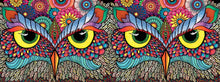 Load image into Gallery viewer, HOLDSON PUZZLE - OODLES OF DOODLES 784PC (OWL-RAGEOUS)