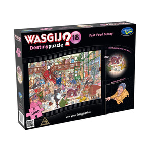 WASGIJ DESTINY 18 1000PC (FAST FOOD FRENZY)